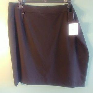 Black Calvin Klein Skirt